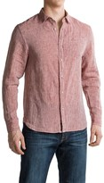 Jachs NY Chambray Linen Shirt - Long Sleeve (For Men)