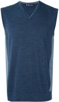 Loro Piana panelled vest - men - Virgin Wool - 48