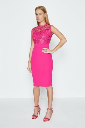 Coast Lace Bodice Shift Dress