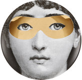 "Fornasetti Woman With Mask"" Plate"