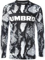 House of Holland x Umbro snakeskin print sweatshirt