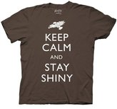 Ripple Junction Firefly Keep Calm And Stay Shiny Men's T-Shirt | M