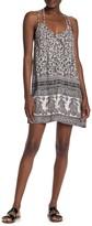 Angie Strappy Racerback Paisley Print Dress