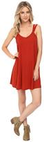 RVCA Like It V-Neck Dress