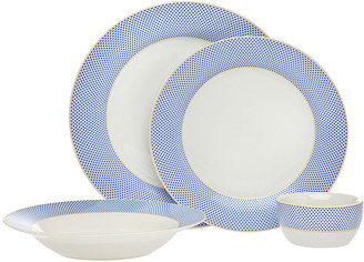 Godinger 16Pc Gustav Dinnerware Set