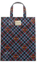 Harrods Medium Borthwick Tartan Shopper Bag