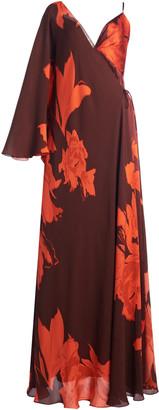 Johanna Ortiz Cartas Olvidadas Convertible Floral Silk Maxi Dress