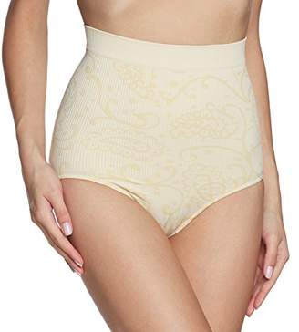 Belly Cloud bellycloud Women's Taillenslip Allover Big Paisley Control Knickers