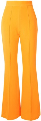 Alex Perry Leighton high-rise flared trousers