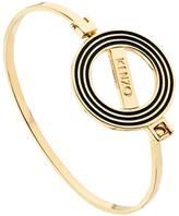 Kenzo Bracelet jonc Logo bicolore
