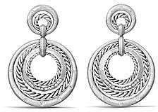 David Yurman Women's Stax Drop Earrings with Diamonds