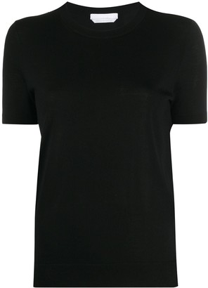 HUGO BOSS Fine Knit Shortsleeved Top