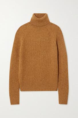 Joseph Ribbed-knit Turtleneck Sweater - Camel