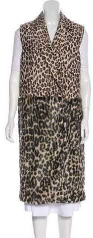 Stella McCartney Leopard Patterned Vest