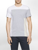 Calvin Klein Slim Fit Colorblock Liquid Cotton T-Shirt