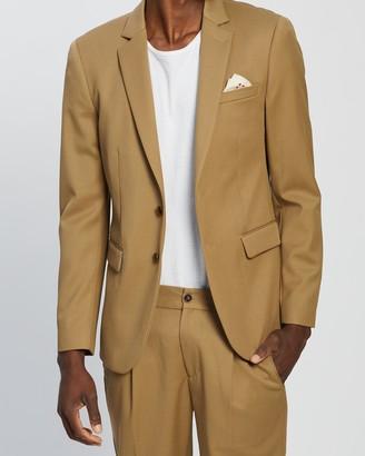 Scotch & Soda Chic Single-Breasted Wool-Blend Blazer