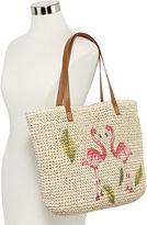 Asstd National Brand Flamingo Tote Bag