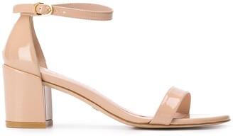 Stuart Weitzman Mid-Heel Sandals
