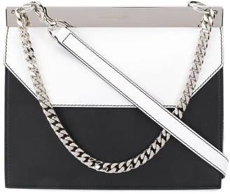 Alexander McQueen Two Tone Clutch Bag