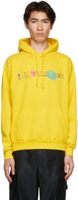 Kids Worldwide Yellow I Love Earth Hoodie