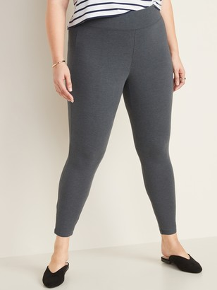 Old Navy High-Rise Plus-Size Jersey Leggings