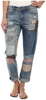 Blank NYC Denim Multicolor Patchwork Skinny in Patch Things Up