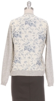 Maison Scotch Print Back Cardgian