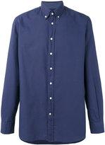 Hackett plain shirt - men - Cotton - S