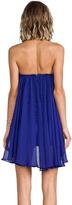 Blaque Label Sweetheart Chiffon Dress