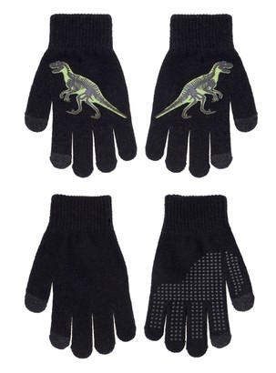 Boys Urban Pipeline 2-Pack Gripper Touchscreen Compatible Gloves