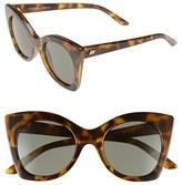 Le Specs Women's 'Savanna' 51Mm Sunglasses - Tort