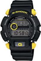 G-Shock G SHOCK Mens Black Resin Strap Sport Watch DW9052-1C9CR