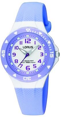 Lorus Unisex Child Analogue Quartz Watch with PU Strap RRX51CX9