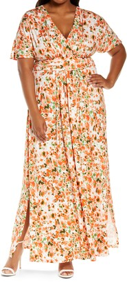 Kiyonna Vienna Maxi Dress