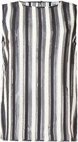Brunello Cucinelli striped top - women - Silk/Brass - M