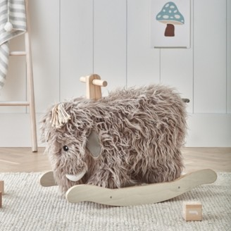 The White Company Rocking Mammoth, Natural, One Size