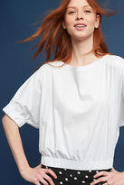 Anthropologie Hatteras Banded-Hem Top
