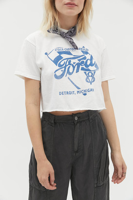 Junk Food Clothing Ford Cropped Tee