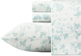 Laura Ashley Garden Palace Cotton Sheet Set