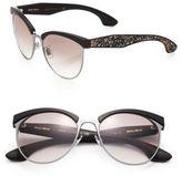 Miu Miu Oversized 56MM Round Sunglasses