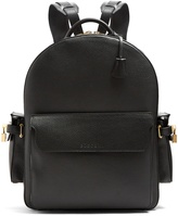 Buscemi Large leather backpack