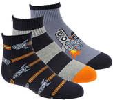 Stride Rite Boys' 3-Pack Robbie Quarter Socks