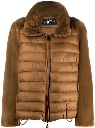 Luisa Cerano Contrast Padded Jacket