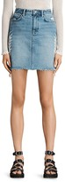 AllSaints Philly Denim Mini Skirt