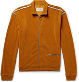 Maison Margiela Ribbed Velour Track Jacket