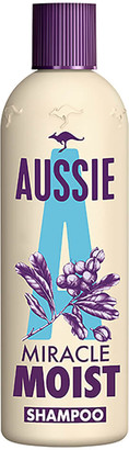 Aussie Miracle Moist Shampoo for Dry and Frizzy Hair 300ml