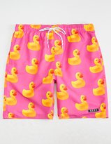 Neff Ducky Mens Hot Tub Volley Shorts