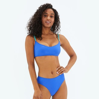 Summersalt The High Leg Mid Rise Bikini Bottom - Hydrangea
