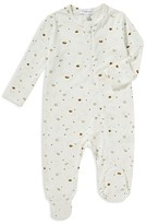 Angel Dear Unisex Hedgehog Print Footie - Baby