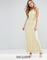 Maya Vintage Embellished Maxi Dress